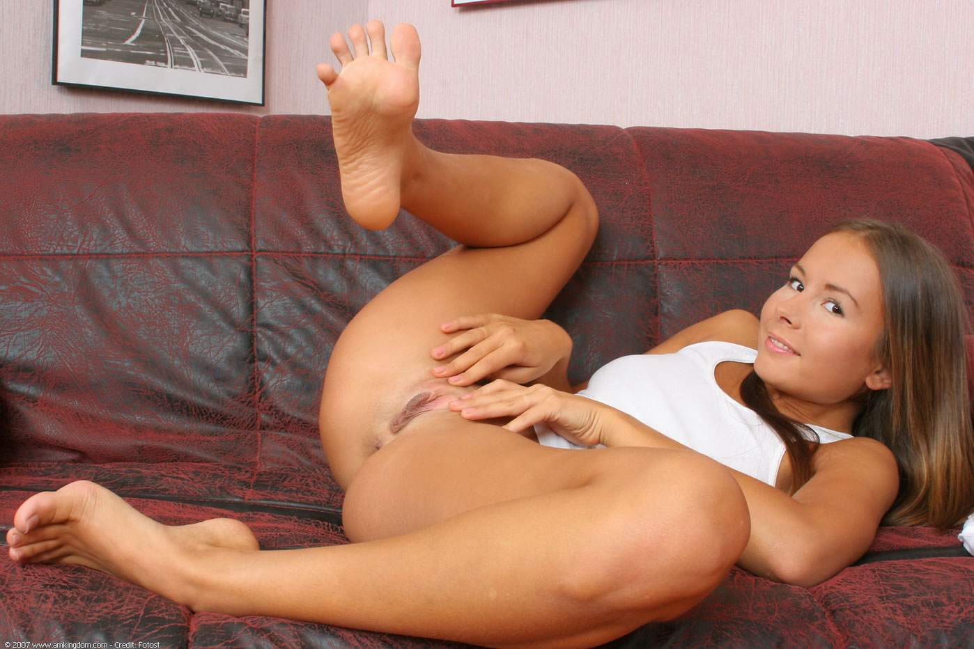Beautiful feet nude sexy