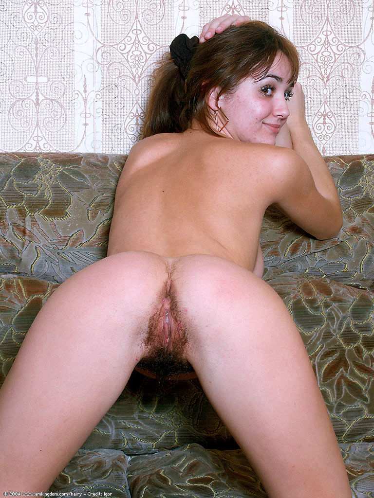 Young hairy ass
